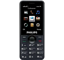 Телефон Philips Xenium E168 Black