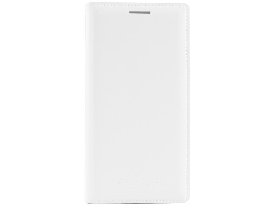 Чехол-книжка Samsung EF-FA300BWEGRU для Galaxy A3, поликарбонат / полиуретан, белый