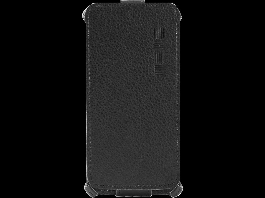 Чехол-книжка Inter-Step для Lenovo A1000, кожзам, черный