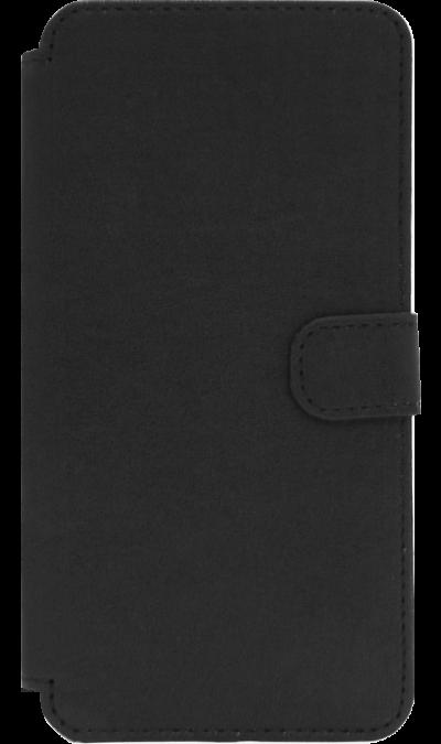 Чехол-книжка OxyFashion для Meizu M5, кожзам, черный